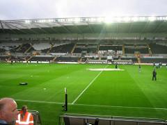 Det er fortsatt håp om Premier League-fotball på Liberty neste sesong. Bilde: Chris Jobling